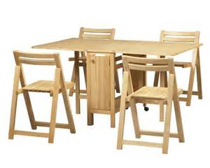 Folding Table With Chairs Stored Inside Table Wooden Fold Up 4 Chairs Stored Inside Oceanside Furniture For Sale