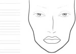 free face chart for pdf