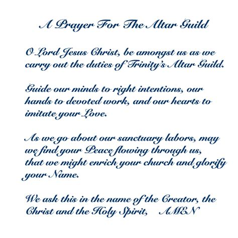 an anglican altar guild manual anglican diocese of the south episcopal altar guild duties chart altar guild prayer
