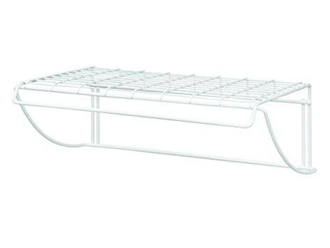 closetmaid wide laundry utility hanger shelf easy home