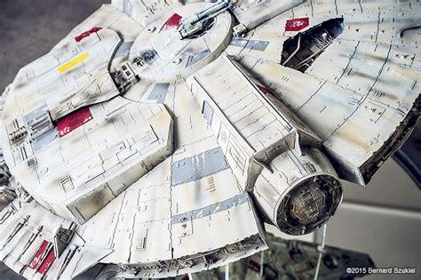 Millenium Falcon Papercraft - millennium falcon papercraft is a work of