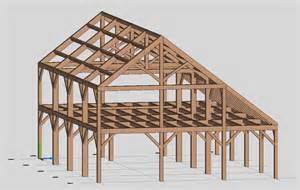saltbox design timber frame engineer
