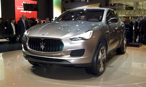 suv maserati maserati suv may be imported from turin the truth about cars