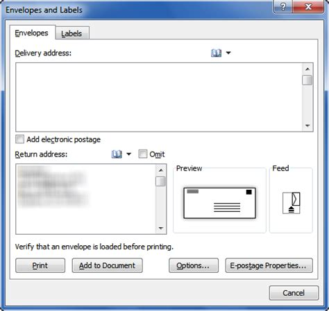 printing address labels on envelopes printing envelopes and labels part 1 envelopes legal