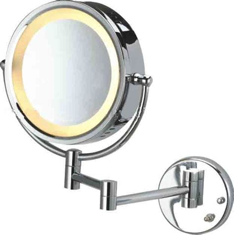 bathroom mirrors with magnification lighted bathroom mirrors magnifying hib mileto led