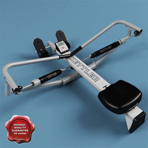 55cm The Original High Quality By Kettler 3d model kettler rowing machine