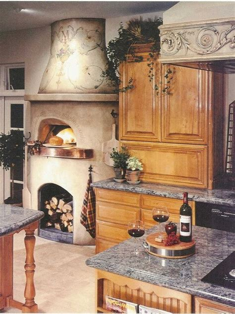 ovens design and fireplaces on