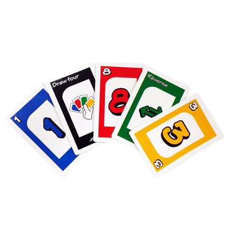 Unos Gift Card - brailled uno cards