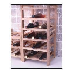 hutten 9 bottle wine rack solid wood ikea