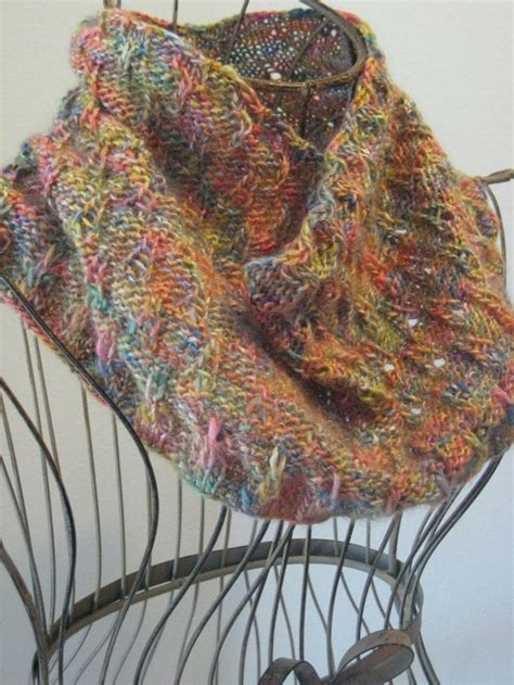 dk cowl knitting patterns eiffel tower eyelet cowl made with roughly 200 yards of