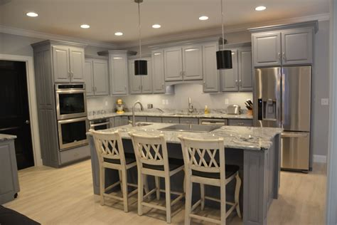 white cabinets with gray granite our kitchen with grey cabinets viscon white granite and
