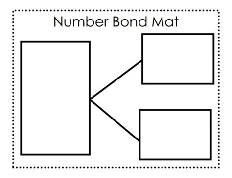 bond template number bond mat without circles pdf