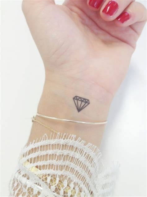 diamond wrist tattoo check out all these designs