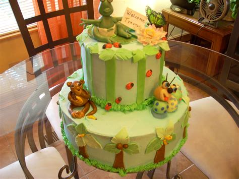 jungle themed bathroom jungle baby shower bear catepillar monkey cathyscakes s
