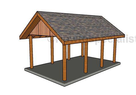Single Carport Plans building a gable carport roof plans howtospecialist how to build step by step diy plans