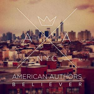 american authors best day of my version believer american authors song