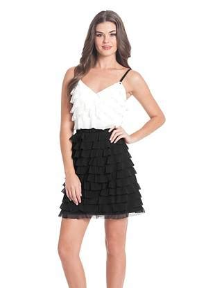 Dress Anak Sabrina Rempel Ruffle sabrina sleeveless ruffled dress guess ca