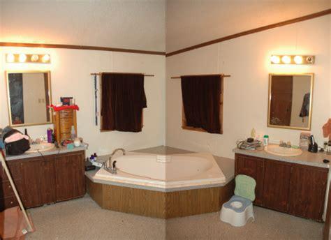 my wife in bathroom help me makeover my bathroom in a frugal fashion a cowboy s wife