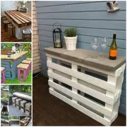 Diy Pallet Patio Table » Home Design 2017