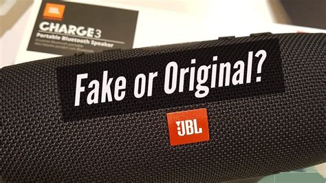 Jbl Charge 3 Original how to spot is your jbl or original unboxing