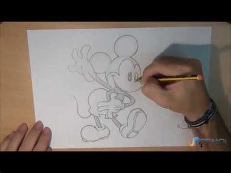 imagenes de mickey para dibujar a lapiz dibujar a mickey mouse youtube