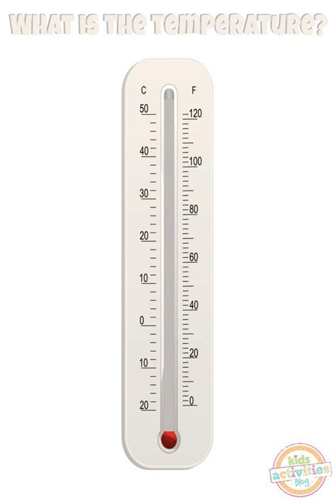 Printable Thermometer