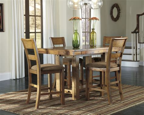 ashley dining room tables ashley d653 32 124 krinden 5 piece rectangular dining room