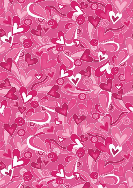 valentines paper valentines day scrapbook paper pink hearts and swirls