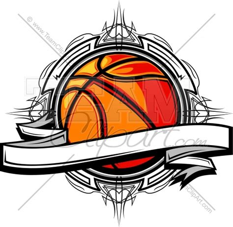 Basketball Clipart Logo Clipart Image Basketball Team Logo Template