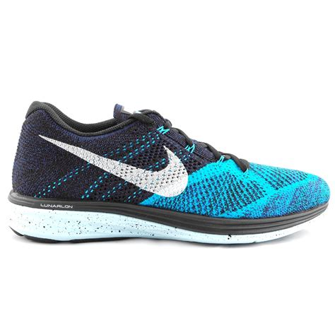 black running shoes for tony pryce sports nike flyknit lunar 3 s running