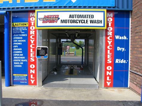 Motorrad Waschanlage by Moto Express Wash
