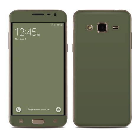 Baby Skin Soft Matte Samsung J3 Pro 2016 Free Wrap samsung galaxy j3 skin solid state olive drab by solid colors decalgirl