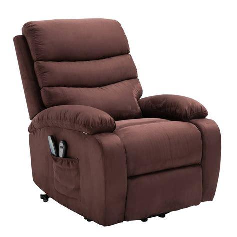 microfiber chair homegear microfiber power lift electric recliner chair w