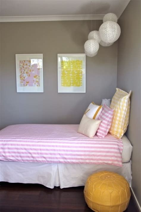 simple  fresh design ideas  teen girls bedroom