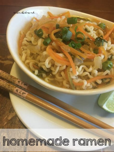 Handmade Ramen Noodles - ramen will make you forget about instant noodles