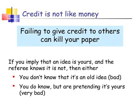 how to present a research paper bad research paper