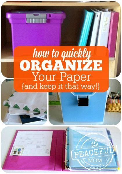 How To Keep Your Desk Organized How To Organize Paperwork A Business And Feeling Overwhelmed