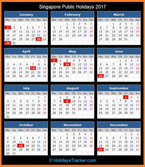 new year 2017 singapore holidays singapore holidays 2017 holidays tracker