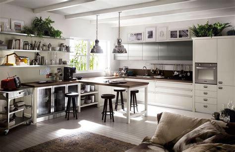 Incroyable Couleur Tendance Pour Salon Salle A Manger #4: couleur-cuisine-tendance-2017-meubles-blanc-plantes-vertes.jpg