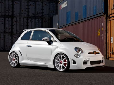 zender abarth 500 corsa stradale has 240 hp video
