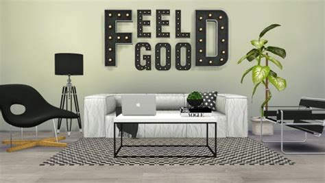 Nursery Decor Letters by Welcome Marquee Letters A Z Sims 4 Downloads