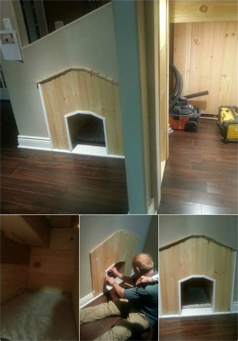 Help! my dog will not go in his dog house!   Large dog house