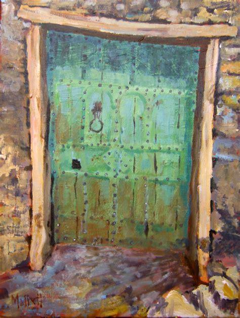 timmy mallett interests painting morocco door