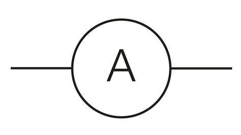 symbol for symbol for ammeter clipart best