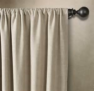 Belgian Linen Curtains Belgian Textured Linen Drapery
