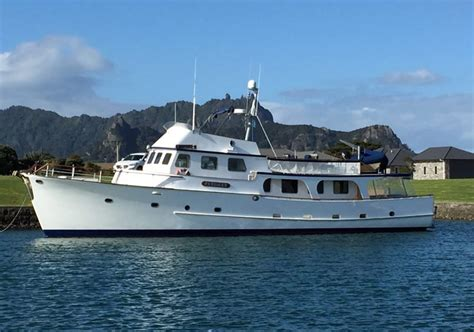 used boat for sale new zealand used luxury new zealand built 73ft motoryacht for sale