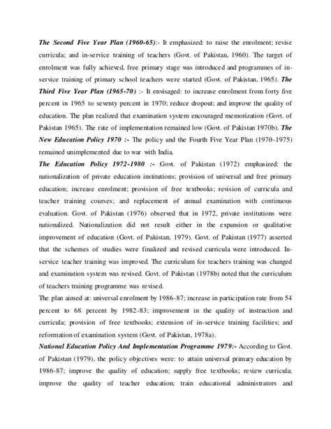 thesis on education in pakistan pdf essay on education in pakistan pdf