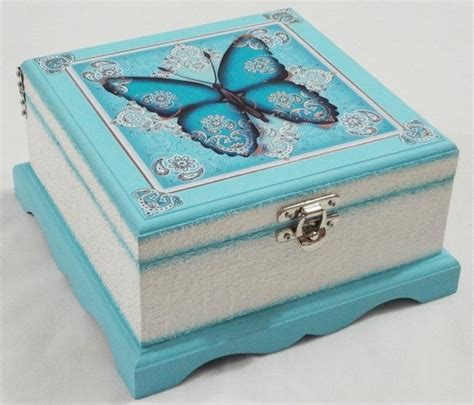 Decoupage Box Ideas - 50 ideas decoupage boxes in various styles part 6