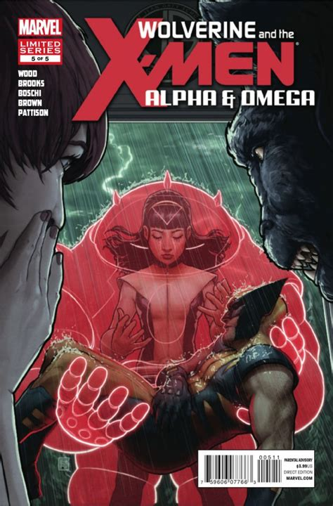 Wolverine And X Tp Alpha And Omega Marvel Comics wolverine and the alpha and omega 5 of 5