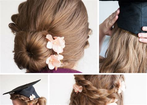graduation hairstyles and makeup enhance beauty by graduation hairstyles yasminfashions